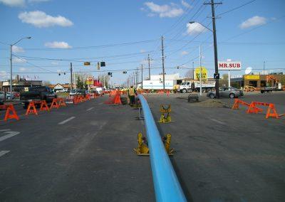 Water Main Replacement - Edmonton