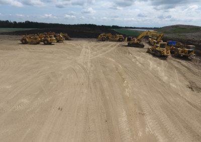Equipment Yard at Inland Aggregate Pits